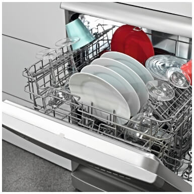 Professionally installed kitchen appliances