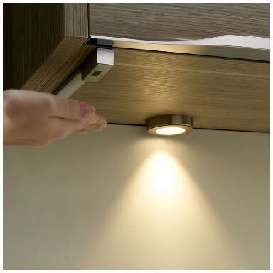 touchless kitchen lighting