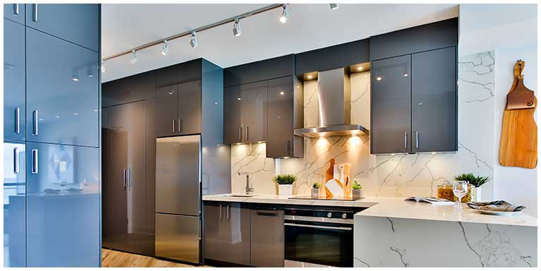 fitted kitchen lighting